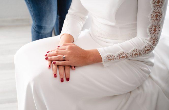 Novias y uñas, uñas y bodas